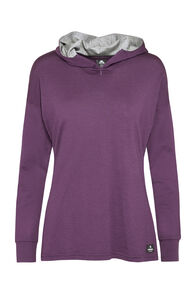 Macpac Tori 180 Hooded Pullover — Women's, Blackberry Wine, hi-res