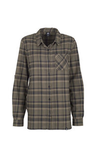 Macpac Porters Flannel Shirt - Women's, Covert Green, hi-res