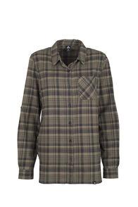Macpac Porters Flannel Shirt - Women's, Covert Green, hi-res