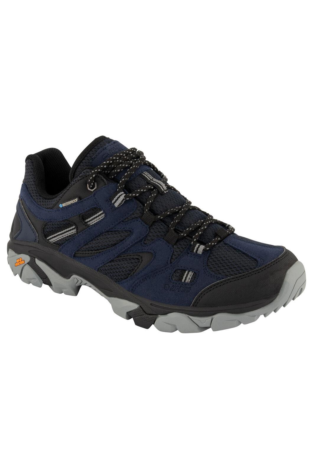 Hi-Tec Men's Ravus Vent Lite WP Low Hiking Shoes, Midnight/Black Monument, hi-res