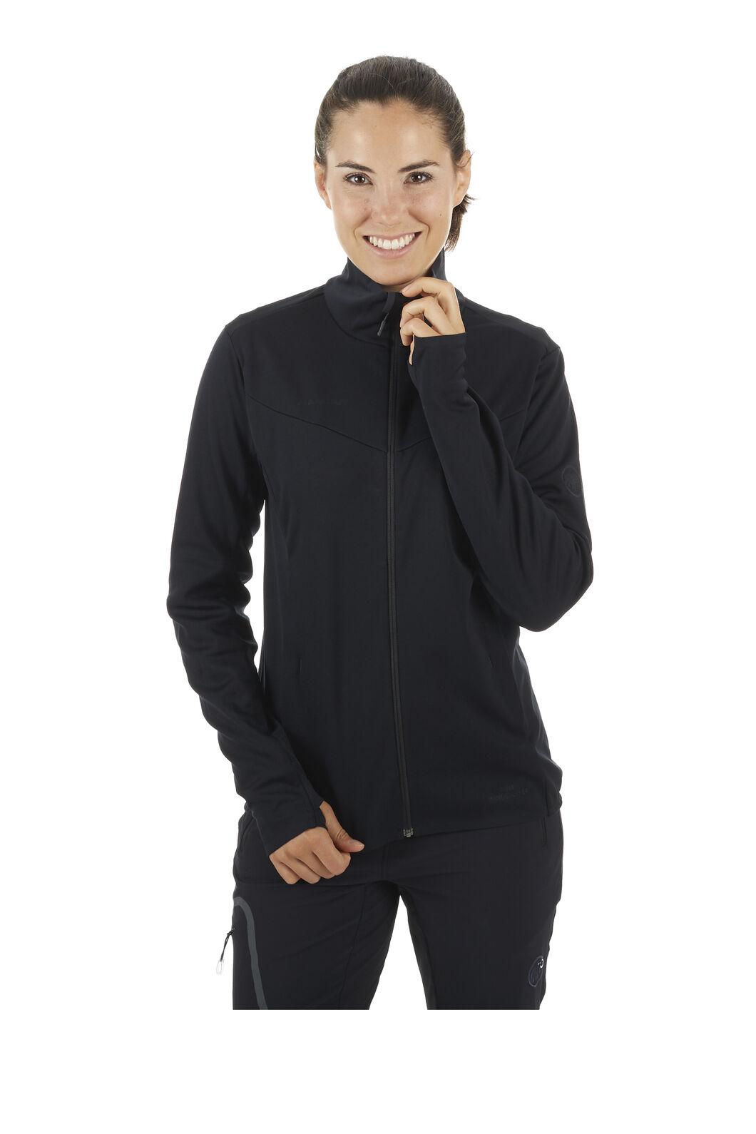 Mammut Ultimate V Softshell Jacket - Women's, Black/Black, hi-res