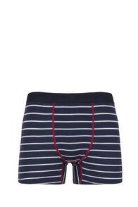 Macpac 180 Merino Boxers - Men's, Black Iris Stripe/Jester, hi-res