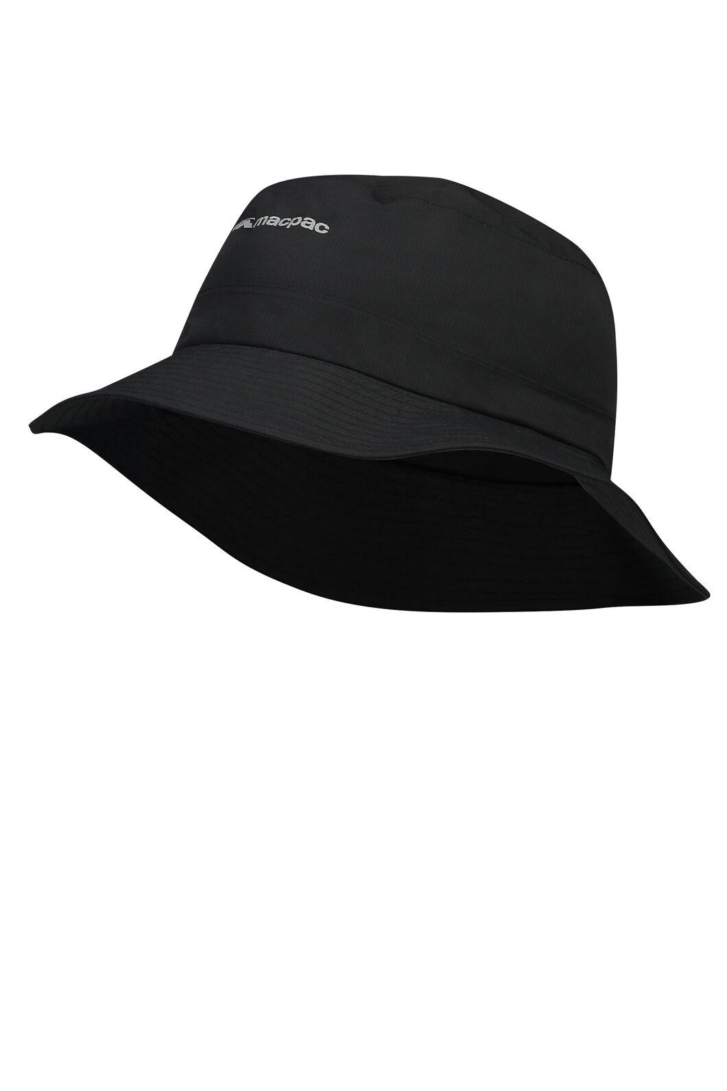 Macpac Waterproof Hat, Black, hi-res