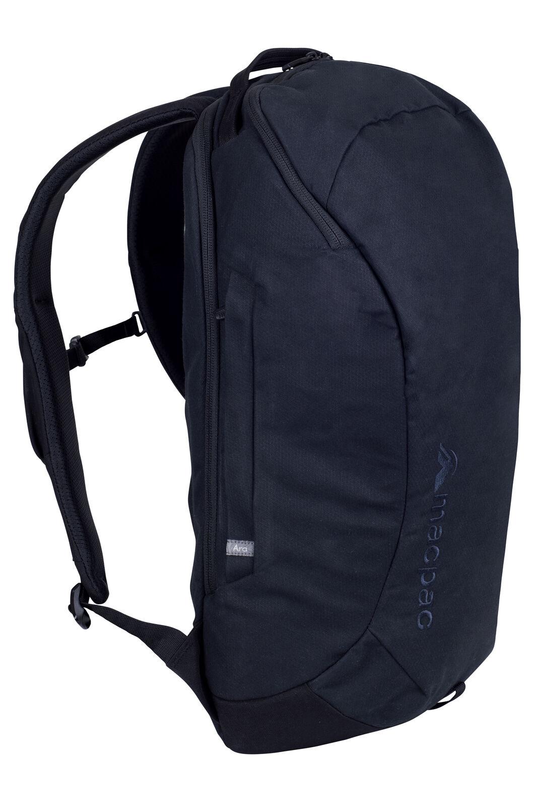 Macpac Ara 19L AzTec® Backpack, Black, hi-res