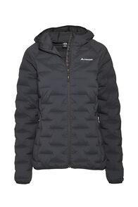 Macpac Ascend Hooded Down Jacket — Women's, Black, hi-res