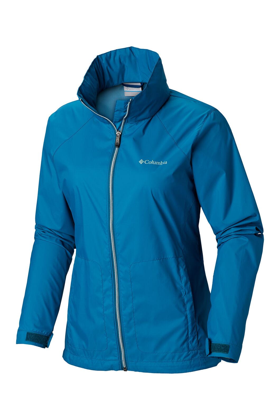 Columbia Switchback III Rain Jacket - Women's, Siberia, hi-res