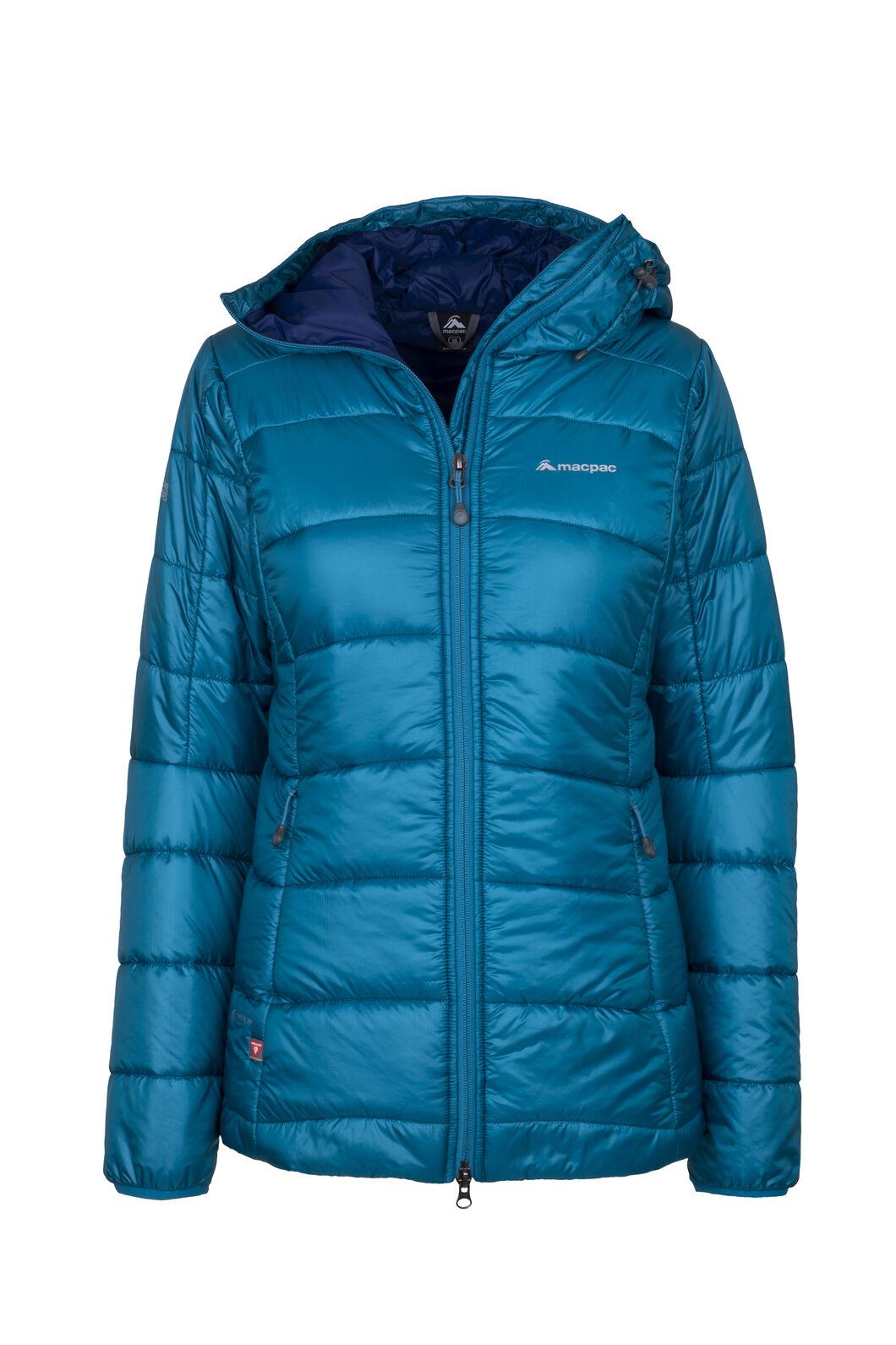 Macpac Pulsar Plus PrimaLoft® Hooded Jacket - Women's, Ocean Depths, hi-res
