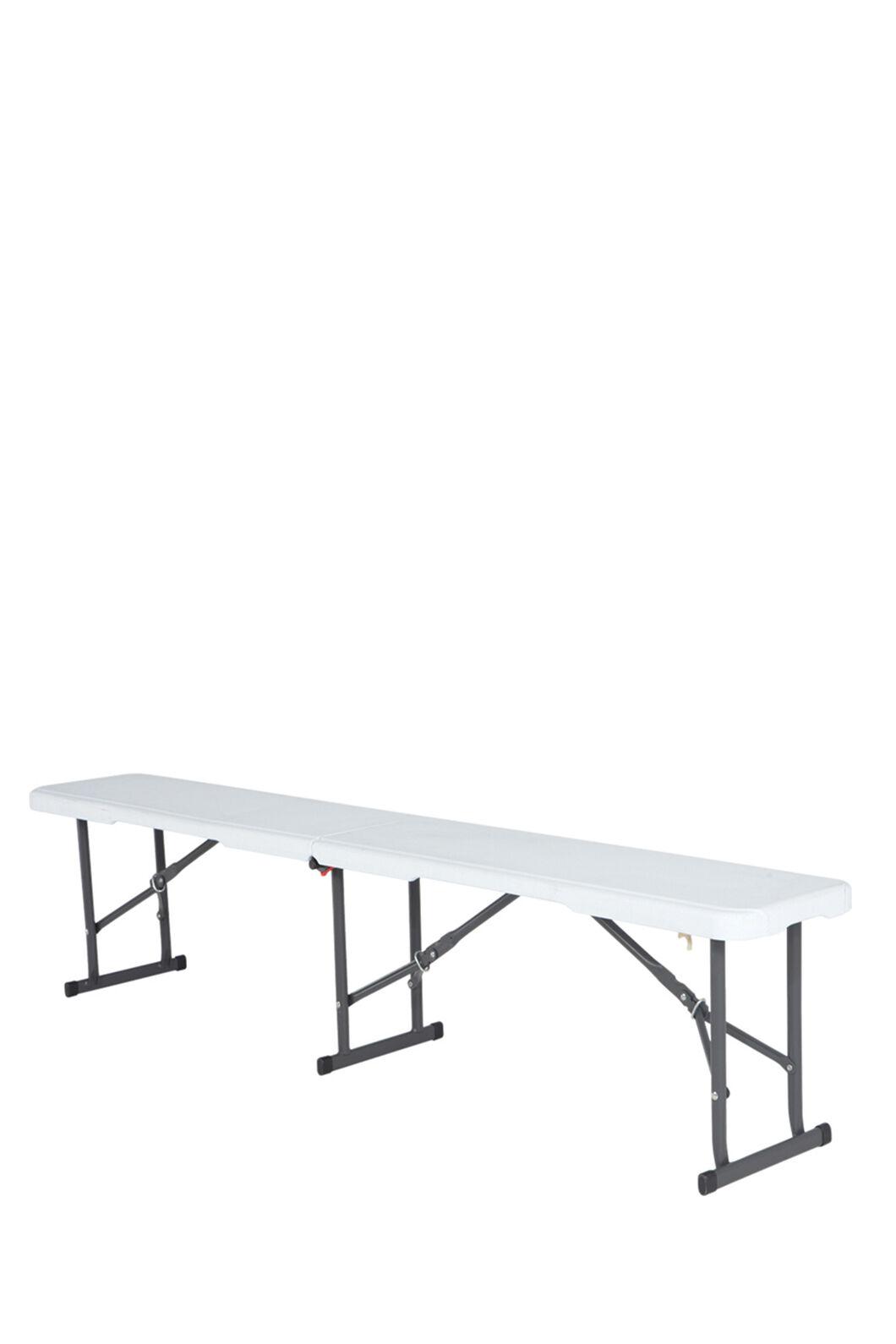 Lifetime 183cm Blow Mould Bench Seat, None, hi-res