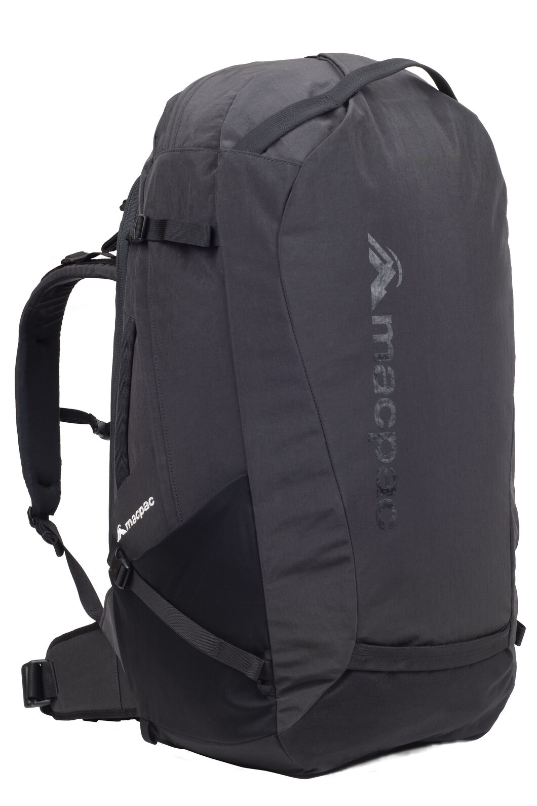 Macpac Exchange 62L Duffel, Black, hi-res