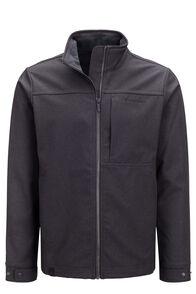 Macpac Men's Chord Softshell Jacket, Black, hi-res