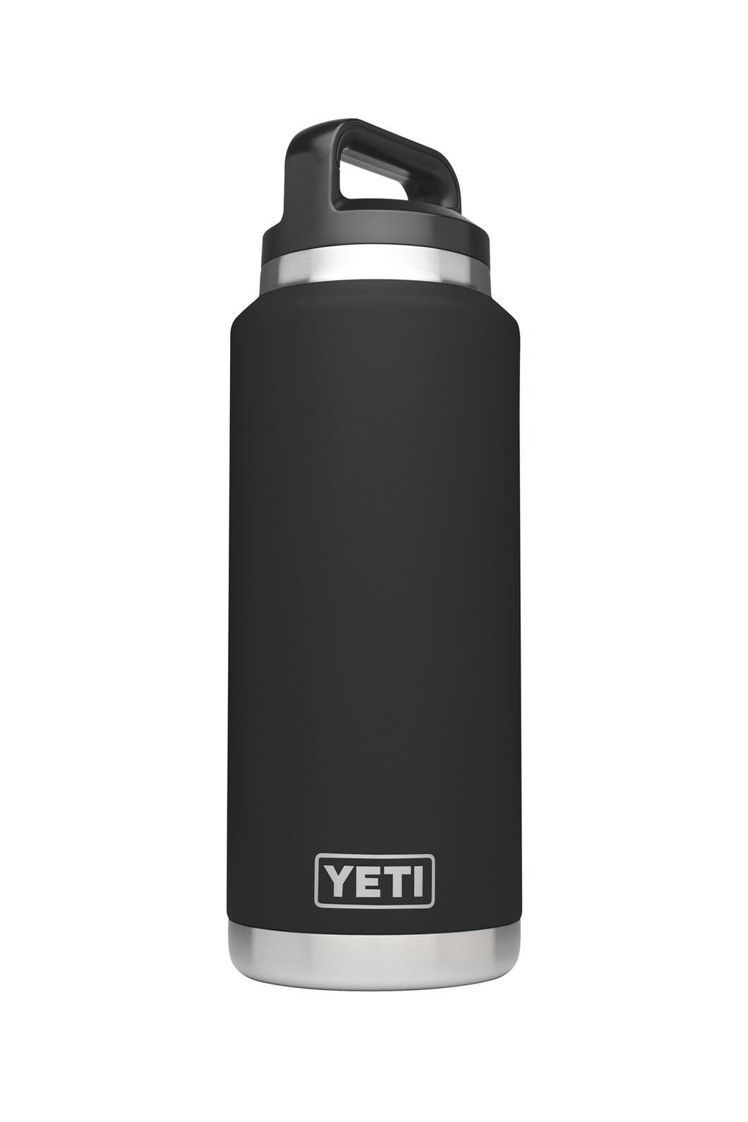 Yeti Rambler Drink Bottle Stainless Steel 36oz, Black, hi-res
