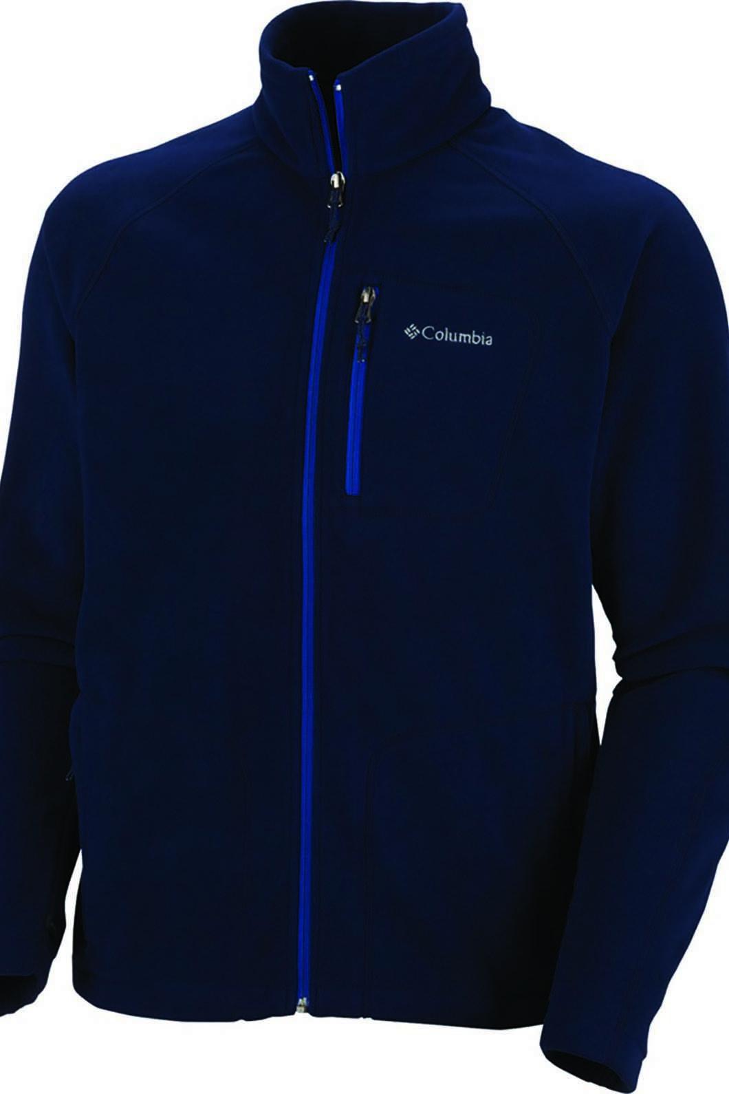 Columbia Men's Fast Trek II Fleece, COLLEGIATE NAVY, hi-res