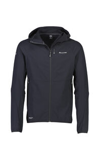 Macpac Mannering Pertex® Hooded Jacket — Men's, Black, hi-res