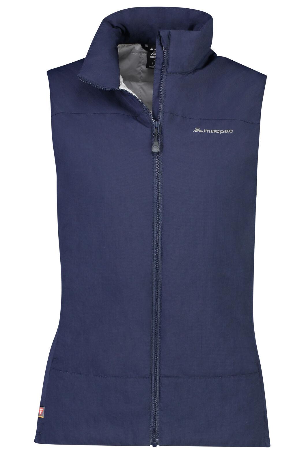 Macpac Ethos PrimaLoft® Vest - Women's, Black Iris, hi-res