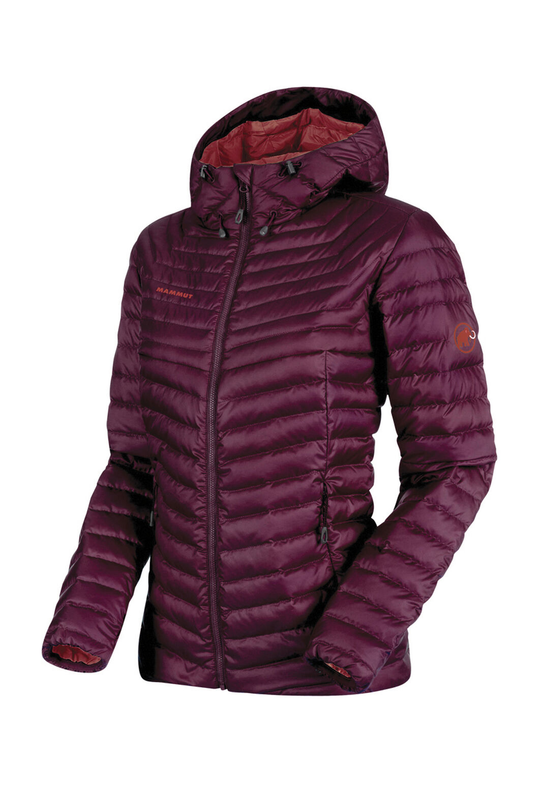 Mammut Convey Insulated Hooded Jacket - Women's, GRAPE, hi-res