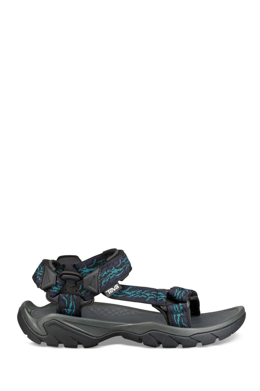 Teva Terra FI 5 Universal Sandals — Men's, Black Print, hi-res