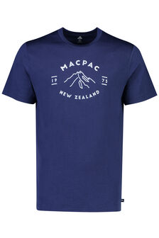 Mountain  Merino 180 Tee - Men's, Medieval Blue
