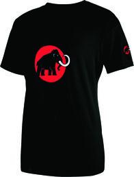 Mammut Logo T-Shirt - Men's, Black, hi-res