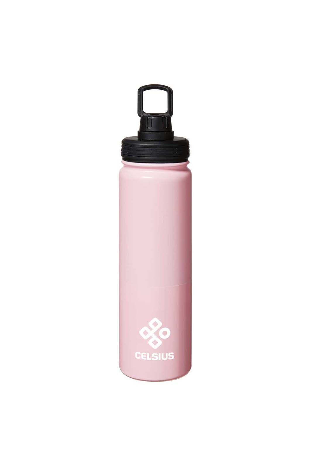 Celsius Stainless Insulated 650ml Water Bottle, Pink, hi-res