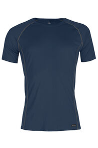 Macpac Geothermal Short Sleeve Top - Men's, Carbon, hi-res