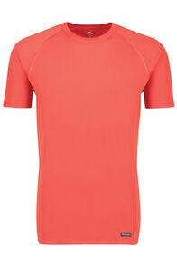 Macpac Geothermal Short Sleeve Top — Men's, Pompeian, hi-res
