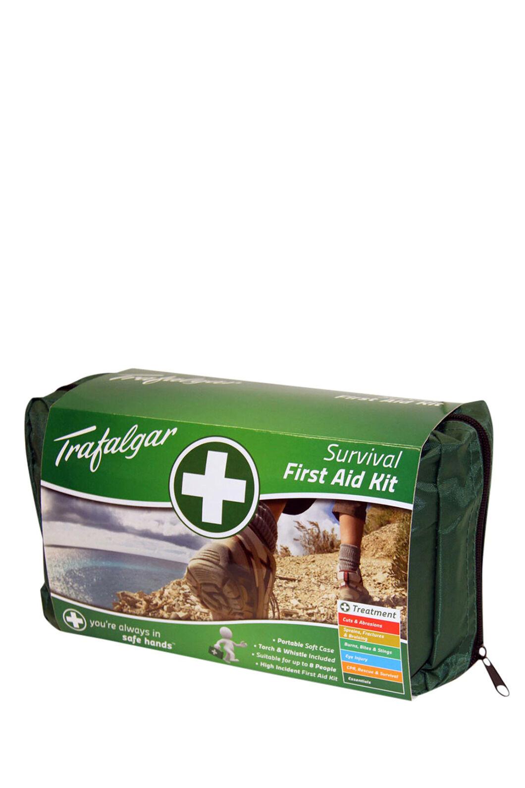 Trafalgar Survival First Aid Kit, None, hi-res