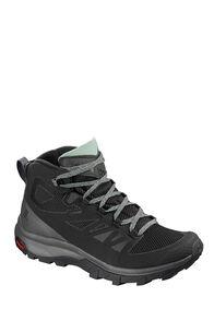 Salomon Outline GTX Hiking Boots - Women's, Black/Magnet/Green Milieu, hi-res