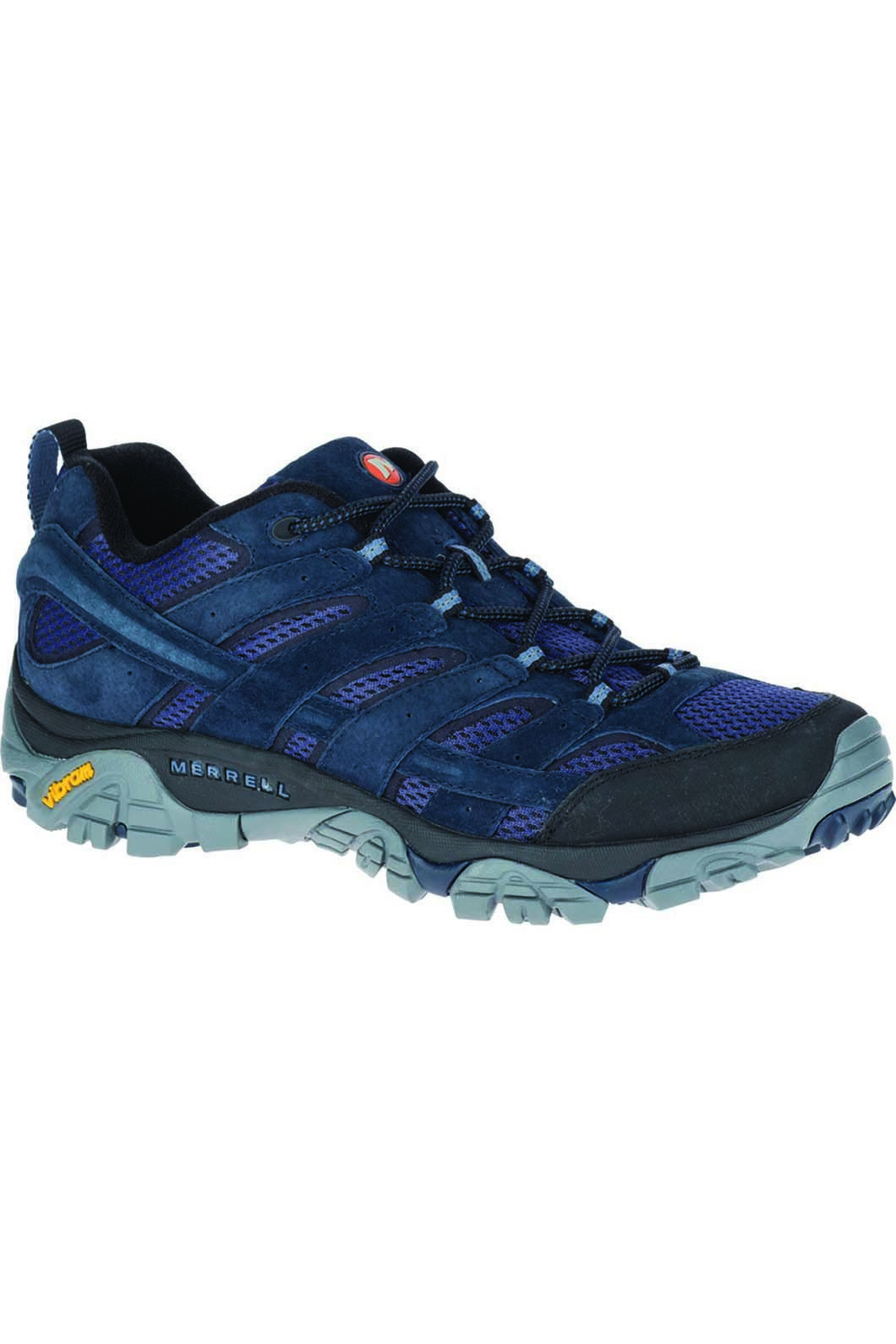 Merrell Men's Moab 2 Ventilator Hiking Shoe, Navy, hi-res