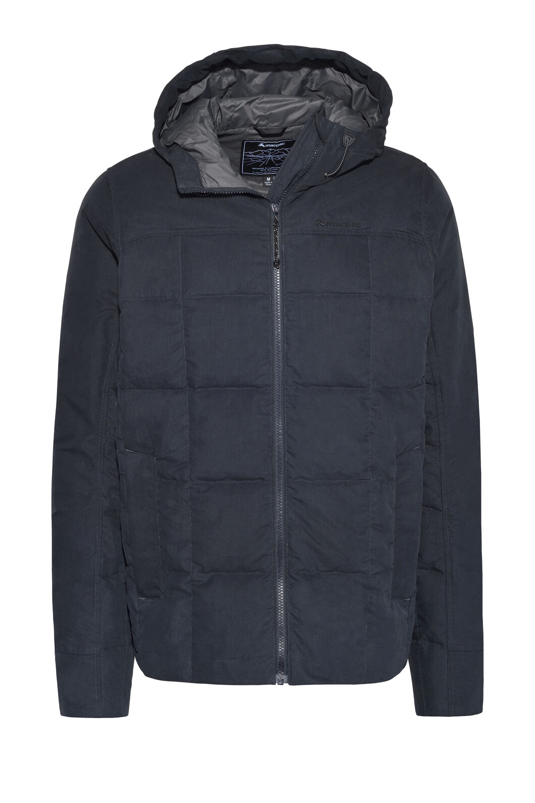 Macpac Men's Fusion Down Jacket, Carbon, hi-res