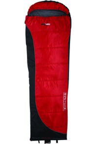 BlackWolf Backpacker 200 Sleeping Bag 4, Red, hi-res