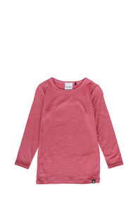 Macpac 150 Merino Long Sleeve Top — Baby, Slate Rose, hi-res