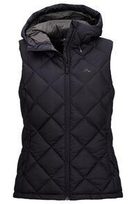 Macpac Women's Zenith Hooded Down Vest, Carbon, hi-res