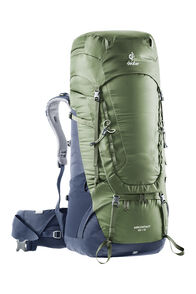 Deuter Aircontact 65L (+10L) Hiking Pack, Khaki/Navy, hi-res