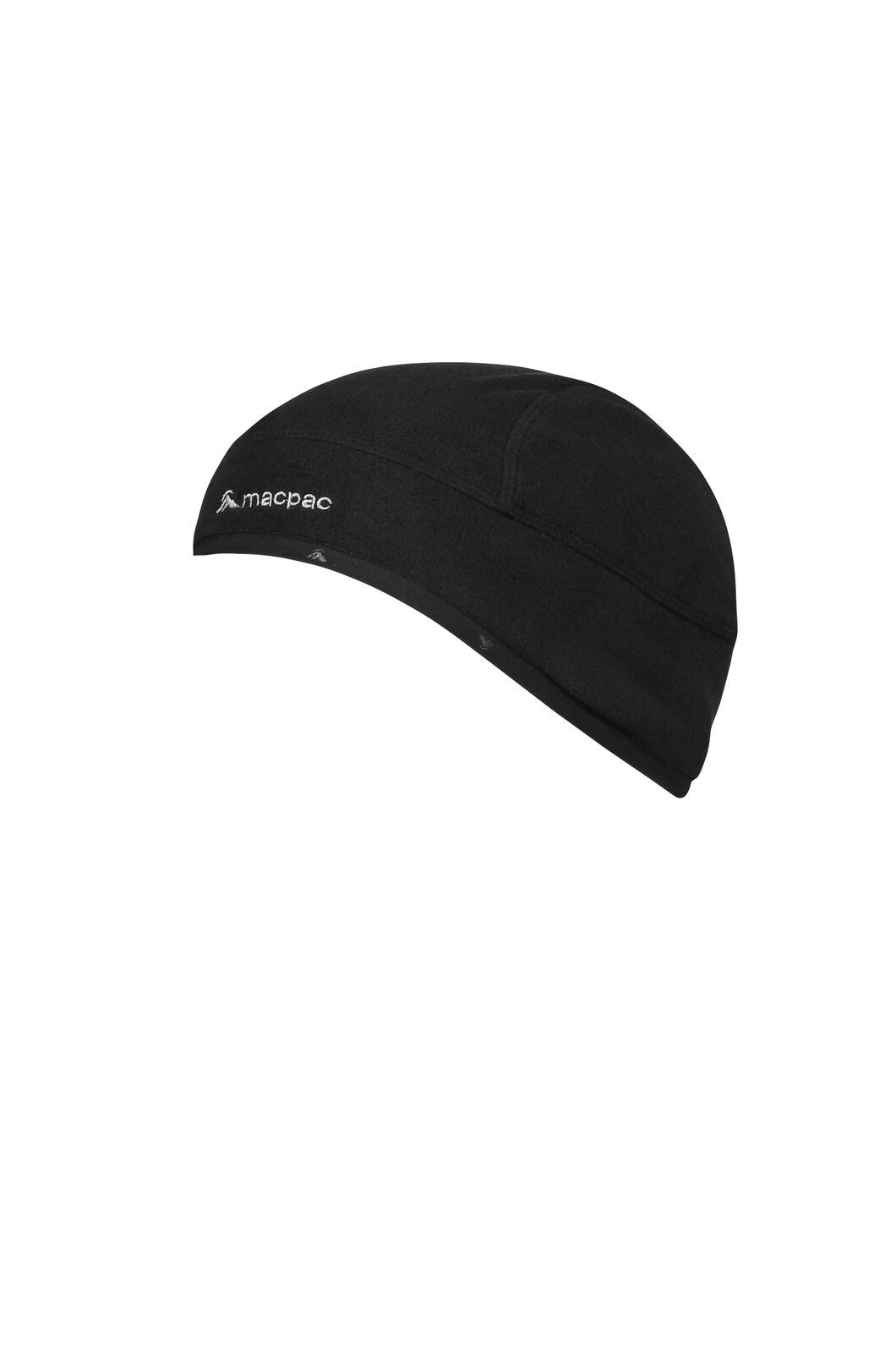 Macpac Hothed Fleece BeanieV3, Black, hi-res