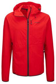 Macpac Mannering Pertex® Hooded Jacket — Men's, Flame Scarlet, hi-res