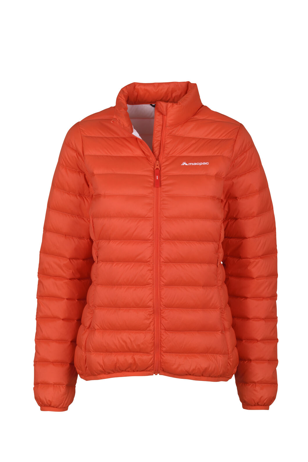 Macpac Uber Light Down Jacket - Women's, Mandarin Red, hi-res
