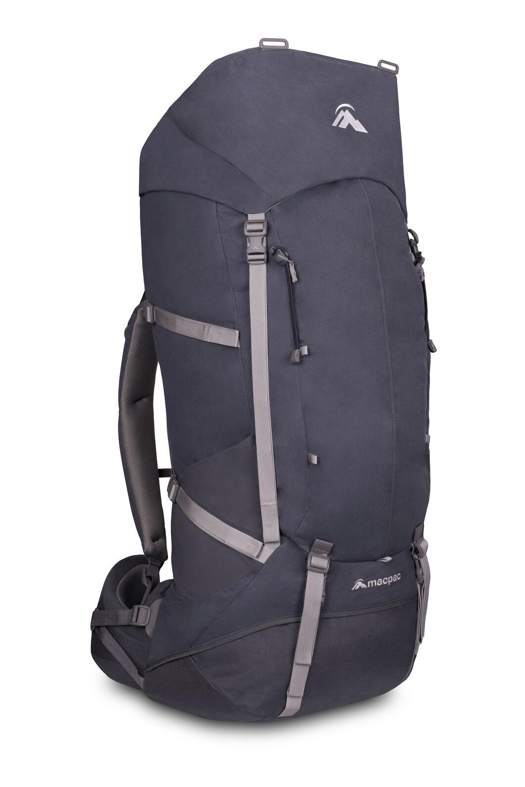 Macpac Cascade AzTec® 65L Hiking Backpack, Slate, hi-res