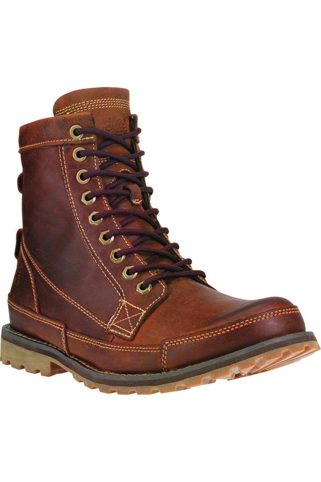 Timberland Men's Earthkeepers Original 6 Inch Boot, MEDIUM BROWN NUBUCK, hi-res