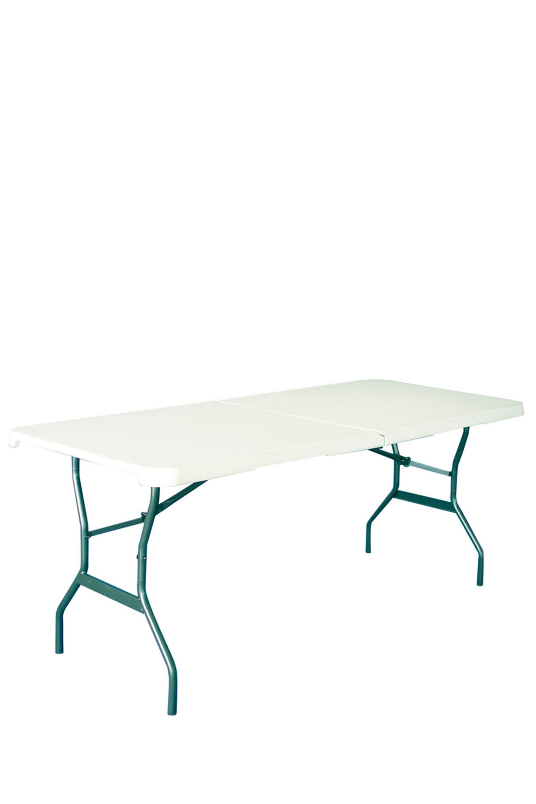 Lifetime 183cm Blow Mould Folding Table, None, hi-res