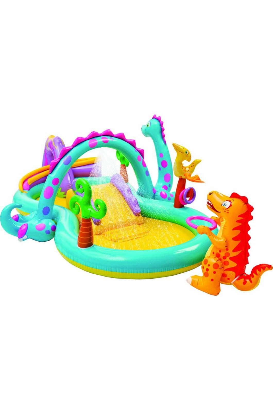 Intex Inflatable Dinoland Play Centre, None, hi-res
