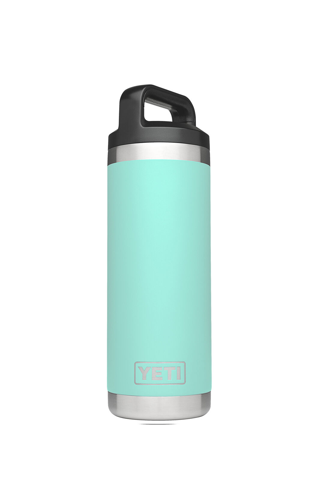 Yeti Rambler Drink Bottle Stainless Steel 18oz, SEAFOAM, hi-res