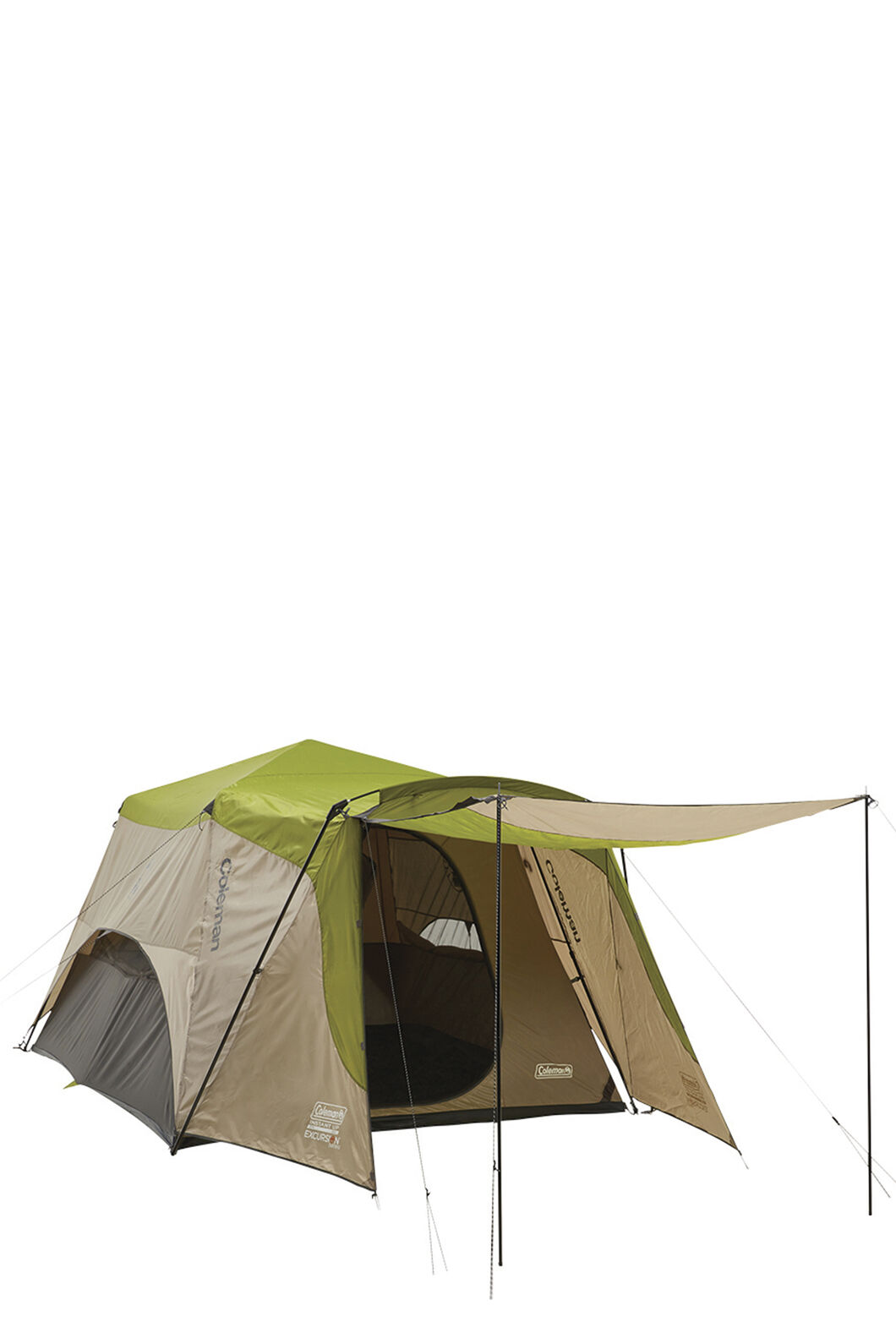 Coleman Excursion Instant Up 6 Person Touring Tent, None, hi-res