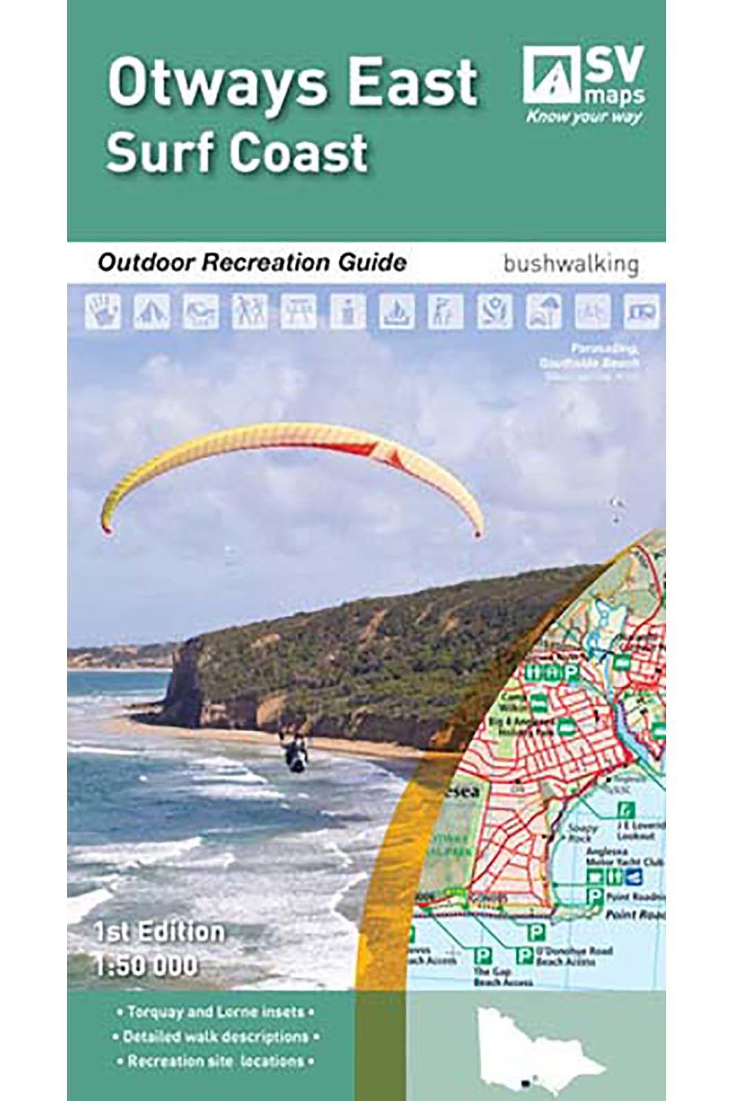 Hema Otways East Surfcoast Map, None, hi-res