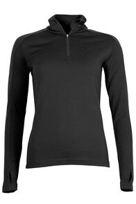 Macpac Kauri 280 Merino Pullover - Women's, Black, hi-res