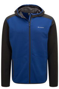 Macpac Arc Fleece Hooded Jacket — Men's, Surf The Web, hi-res