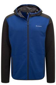 Macpac Men's Arc Fleece Hooded Jacket, Surf The Web, hi-res
