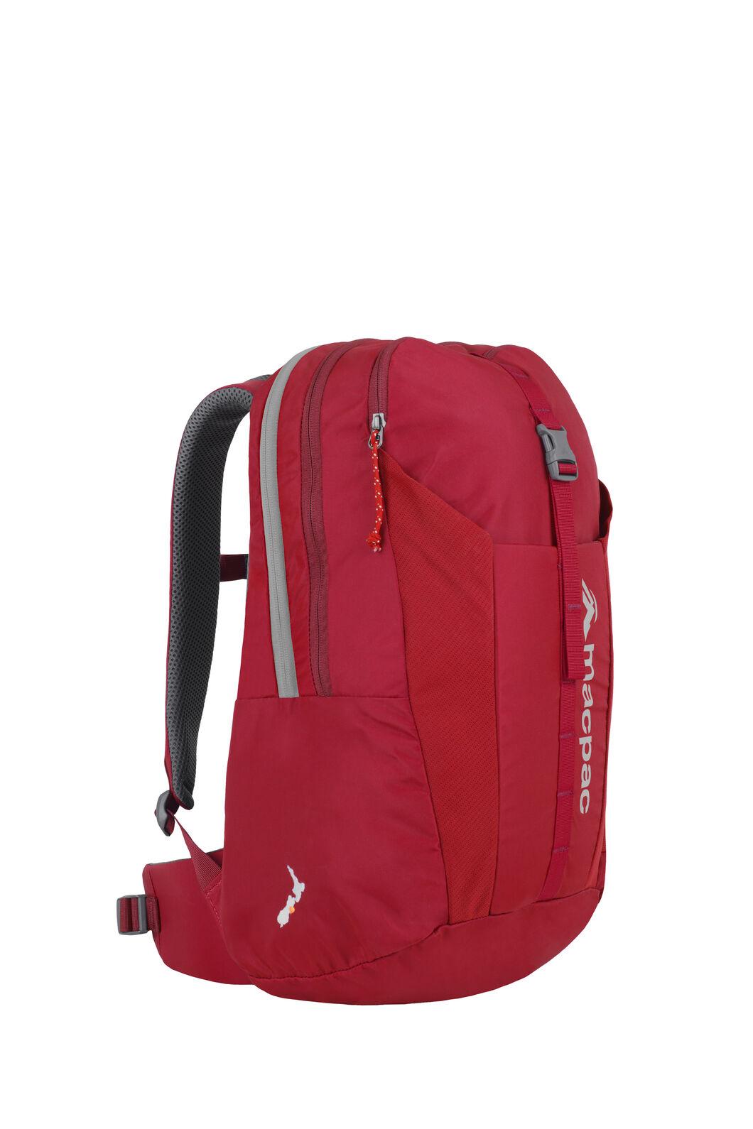 Macpac Summit Ridge 22L Backpack — Kids', Haute Red, hi-res