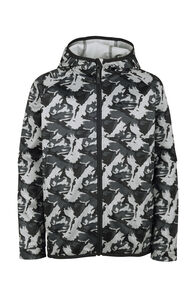 Macpac Kiwi Fleece Jacket - Kids', Grey Camo, hi-res