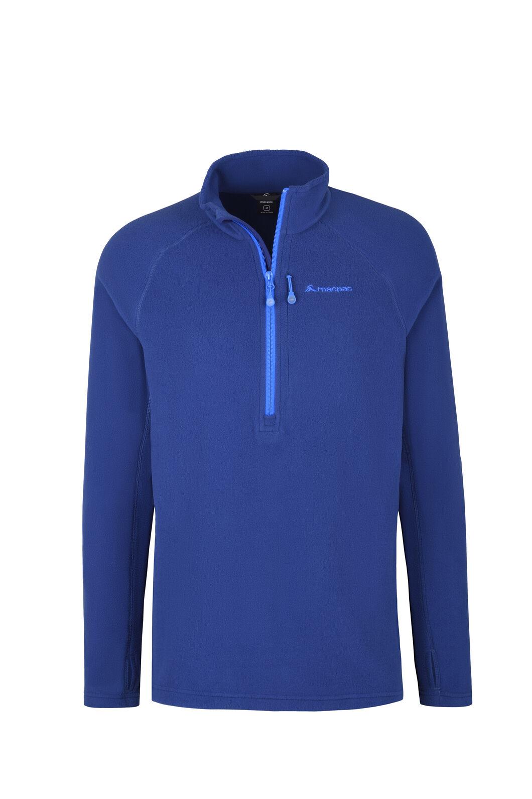 Macpac Tui Fleece Pullover - Men's, Blue Depths, hi-res