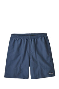 "Patagonia Baggies Longs Short 7"" — Men's, STONE BLUE, hi-res"